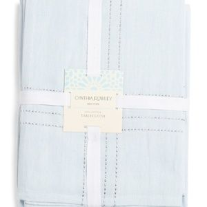 """CYNTHIA ROWLEY Embroidered Tablecloth 60' x 108"""""""
